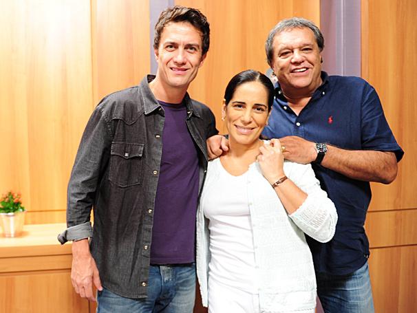 Sob o olhar do diretor Dennis Carvalho, Gabriel Braga Nunes e Glória Pires se encontram pela primeira vez nas gravações de Insensato Coração