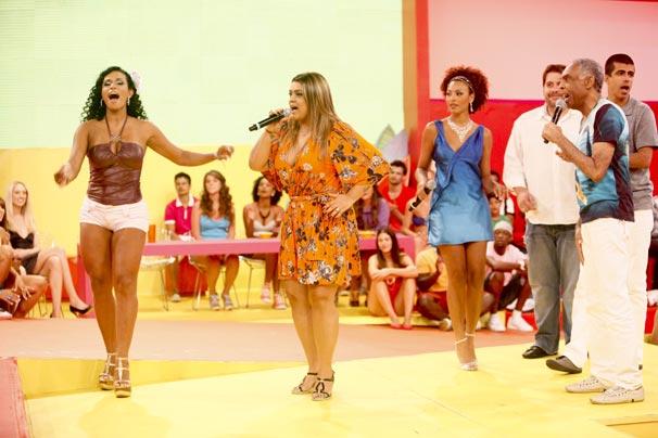 Preta Gil, Gilberto Gil, Marcius Melhem e Leandro Hassum marcam presença no programa