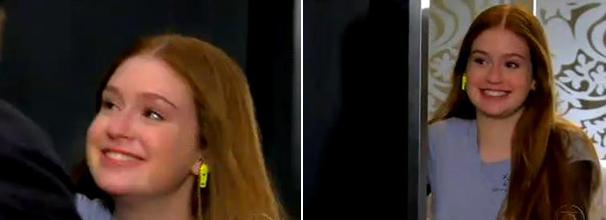 Os brincos de zíper de Vanessa, personagem de Marina Ruy Barbosa, são uma criação da própria atriz