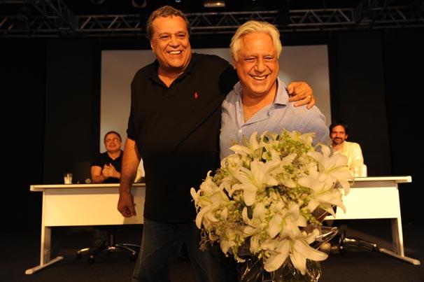 Antônio Fagundes foi um dos homenageados por Dennis Carvalho