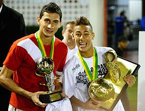 Neymar e Ganso estão no DVD