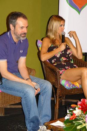 Ricardo Waddington e Fernanda Lima