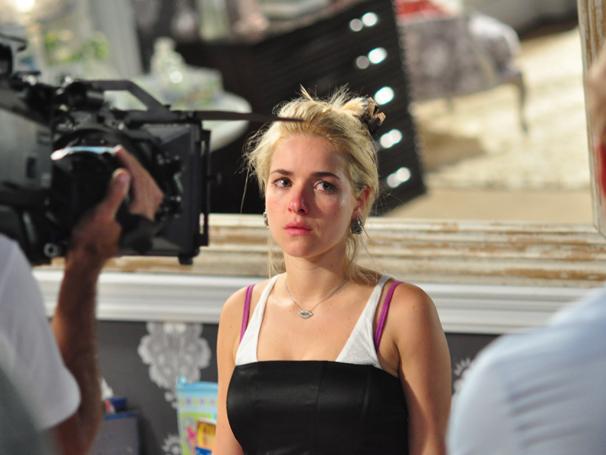 Lara com Z (Foto: TV Globo/ Estevam Avellar)
