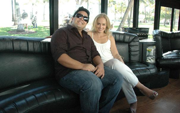 André Marques e Angélica (Foto: TV Globo/Debora Montenegro)