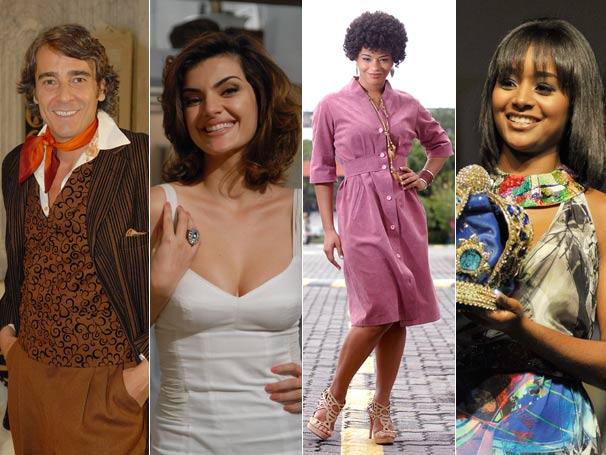 Alexandre Borges, Mayana Neiva, Juliana Alves e Aline Prado vão participar da Ação Global (Foto: Divulgação TV Globo)