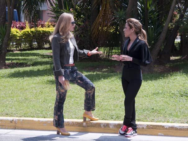 Angélica encontra Wanessa Camargo (Foto: TV Globo/Bob Paulino)