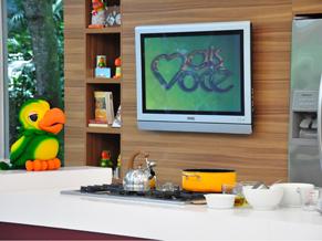 Ana Maria Braga inicia workshop para aprendizes na cozinha Louro José (Foto: TV Globo / Estevam Avellar)