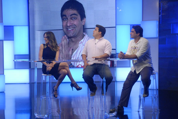 Zeca Camargo vai participar da estreia do quadro Sócio de Carteirinha do Vídeo Show  (Foto: TV Globo/Blenda Gomes)