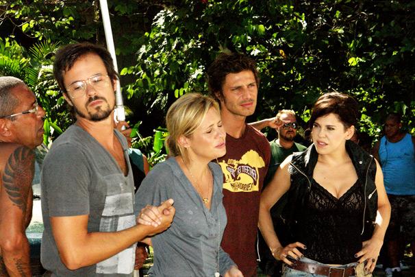 elenco unido (Foto: TV Globo/Thais Jordão)
