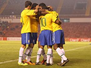 Seleção brasileira sub-20 enfrenta o Uruguai (Foto: Divulgação/ Globoesporte.com)