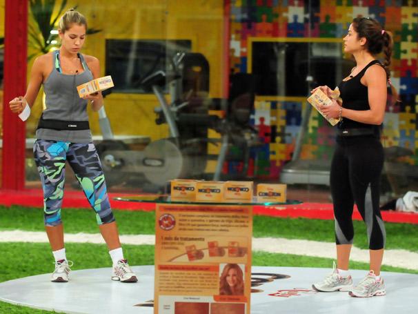 Após ser desafiada por Adriana, Maria torna-se a nova líder do Big Brother Brasil (Foto: TV Globo / Frederico Rozário)