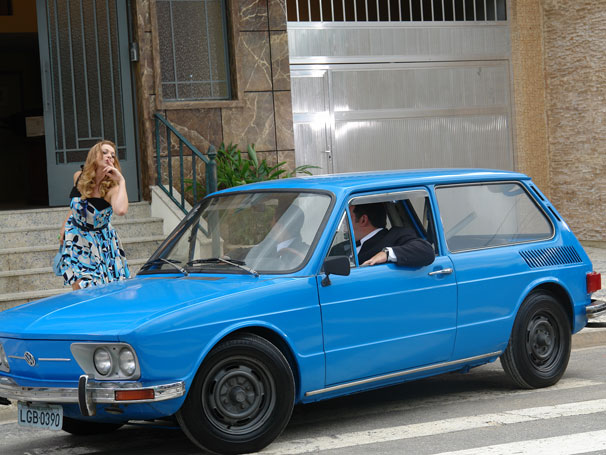 Os Caras de Pau - Alexandra Richter estreia no elenco fixo da série (Foto: Luanna Britto / Divulgação TV Globo)