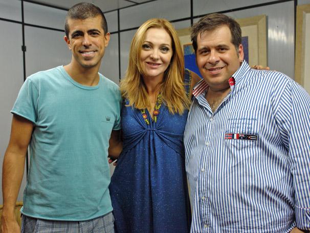 Leandro Hassum e Marcius Melhem (Foto: TV Globo/ Thais Padua)