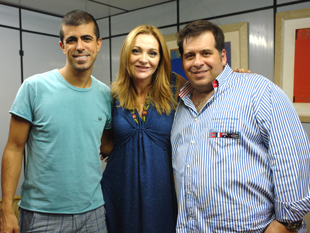 Alexandra Richer é a nova integrante fixa do programa (Foto: TV Globo/ Thais Padua)