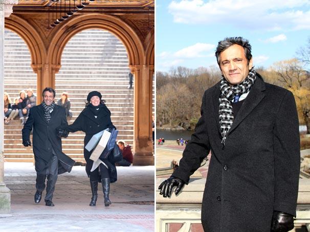 As gravações em Nova York começaram no início de março (Foto: TV Globo/Luiz C. Ribeiro)