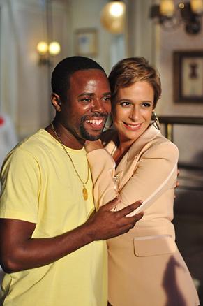Érico Brás e Andréa Beltrão (Foto: TV Globo / Estevam Avellar)
