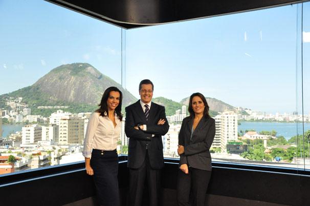 Ana Paula Araújo, Márcio Gomes  (Foto: TV Globo / Estevam Avellar)