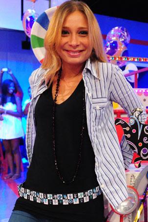Katiuscia Canoro (Foto: TV Globo/João Miguel Júnior)
