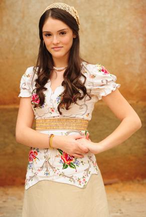 Rosa (Isabelle Drummond) (Foto: TV Globo/ João Miguel Júnior )