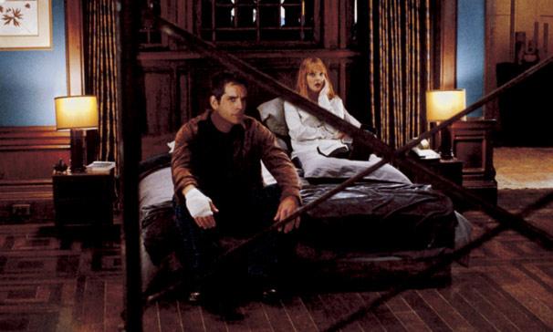 Alex (Ben Stiller) e Nancy (Drew Barrymore) se mudam pro apartamento dos sonhos (Foto: Divulgação)