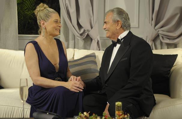 O casal relembra fatos do passado (Foto: TV Globo/Renato Rocha Miranda)