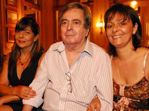 Benedito, com as filhas Edmara e Edilene (Foto: Divulgação/TV Globo)