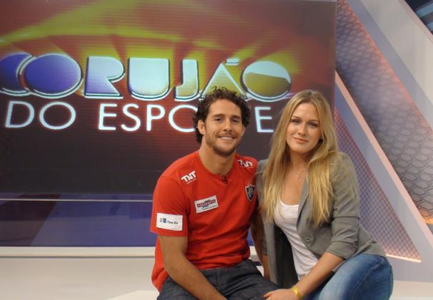 Corujão do Esporte (Foto: Divulgação TV Globo / Gisele Gomes)