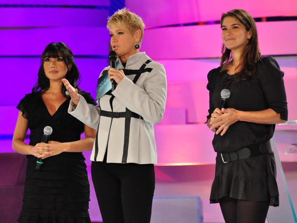 Xuxa, Priscila Fantin e Dani Suzuki (Foto: TV Globo/ Estevam Avellar)