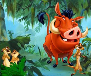 Timão e Pumba (Foto: Divulgação)
