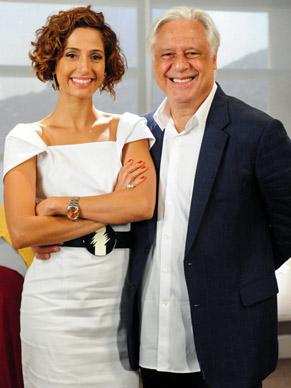 Carol (Camila Pitanga) e Raul (Antonio Fagundes) se apaixonam em Insensato Coração  (Foto: Foto: TV Globo/ João Miguel Júnior)