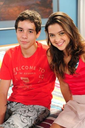 Vitor Novello e Polliana Aleixo (Foto: TV Globo/João Miguel Júnior)