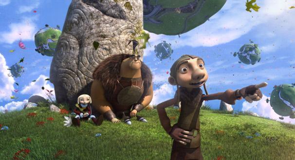 Zoe, Gwizdo e Lian-chu partem para uma aventura contra um perigoso dragão (Foto: Divulgação)