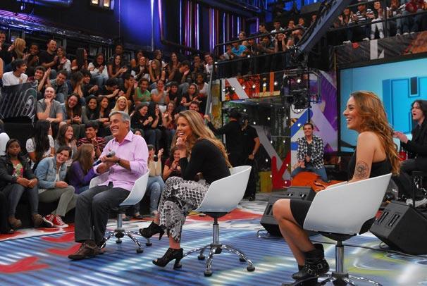 Os convidados do Altas Horas deste sábado (Foto: TV Globo/Zé Paulo Cardeal)