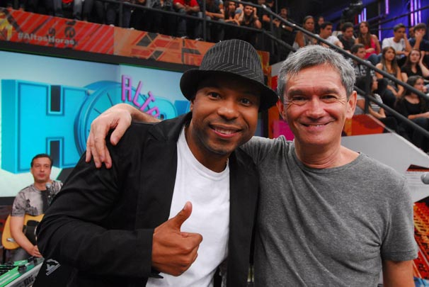 Buchecha é uma das atrações musicais  (Foto: TV Globo/Zé Paulo Cardeal)