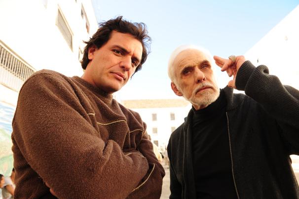 Rodrigo Lombardi interpreta Herculano Quintanilha e Francisco Cuoco vive Ferragus (Foto: TV Globo/João Miguel Júnior)