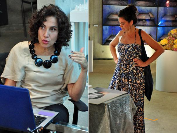 Mercedes (Lilia Cabral) e Tânia (Totia Meireles) se envolvem com o mesmo homem (Foto: TV Globo/ Alex Carvalho)