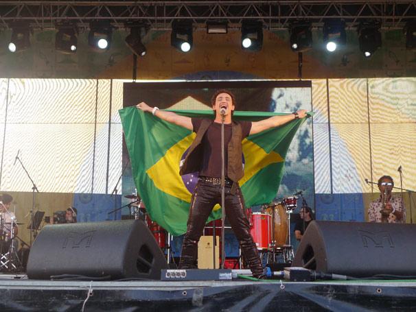 O intérprete brasileiro Ricky Vallen (Foto: Divulgação TV Globo)