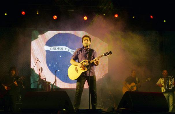 Daniel cantou no evento (Foto: Divulgação TV Globo)