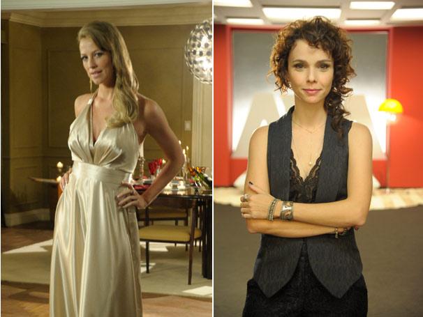 Luana Piovani e Débora Falabella: as atrizes mostram o visual de suas personagens na nova série da Rede Globo (Foto: TV Globo/Renato Rocha Miranda)