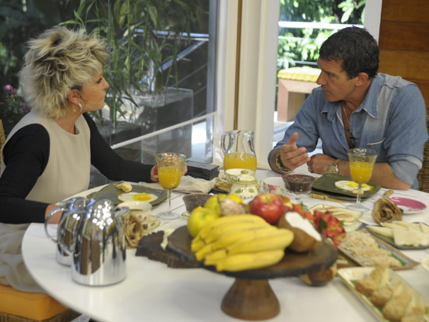 Antonio Banderas  (Foto: TV Globo/ Renato Rocha Miranda)