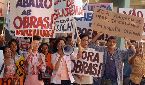 A Grande família (Foto: Alex Carvalho/ TV Globo)