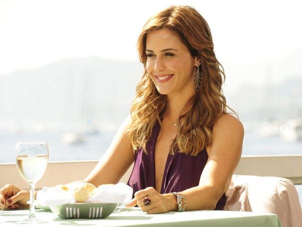 Guilhermina Guinle grava as primeiras cenas de Beatriz, sua personagem na trama (Foto: João Miguel Jr./ TV Globo)