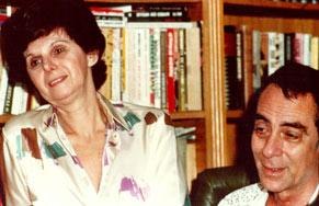 A autora com o marido Dias Gomes (Foto: CEDOC/ TV Globo)