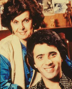 Janete Clair ao lado de Tony Ramos, um dos grandes destaques da trama de O Astro (Foto: CEDOC/ TV Globo)