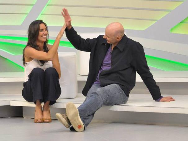Glenda e Tande formam nova dupla de apresentadores do Esporte Espetacular (Foto: TV Globo/ João Cotta)