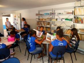 Sala de Leitura Roda Viva Criança Esperança (Foto: Divulgação)