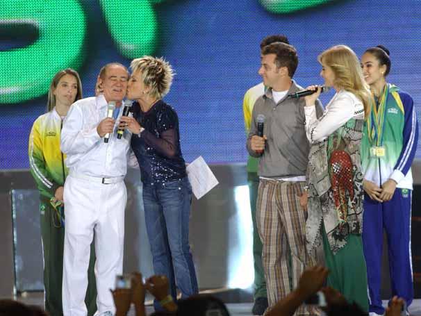 Show do Criança Esperança em 2007 (Foto: Arquivo da TV Globo)