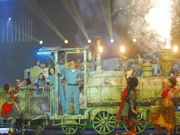 Show do Criança Esperança 2009 (Foto: Arquivo Rede Globo)