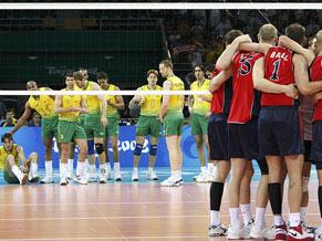 Brasil perdeu o ouro para os americanos nas Olimpíadas de Pequim (Foto: Globoesporte.com/ Agência Reuters)