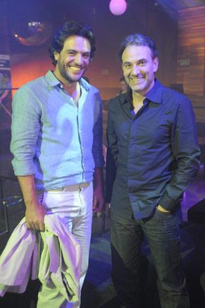 Rodrigo Lombardi e Marco Ricca (Foto: TV Globo/Renato Rocha Miranda)